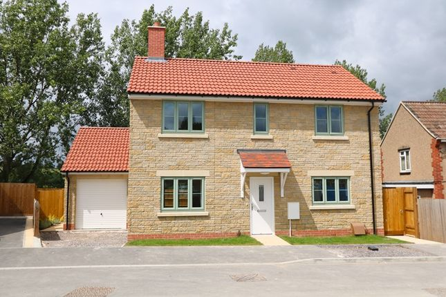 Thumbnail Detached house for sale in Herbert Gardens, Farmborough, Bath