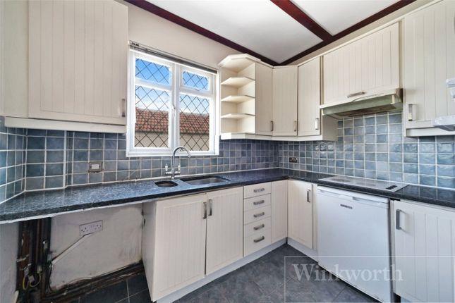 Thumbnail Semi-detached bungalow for sale in Tudor Close, London