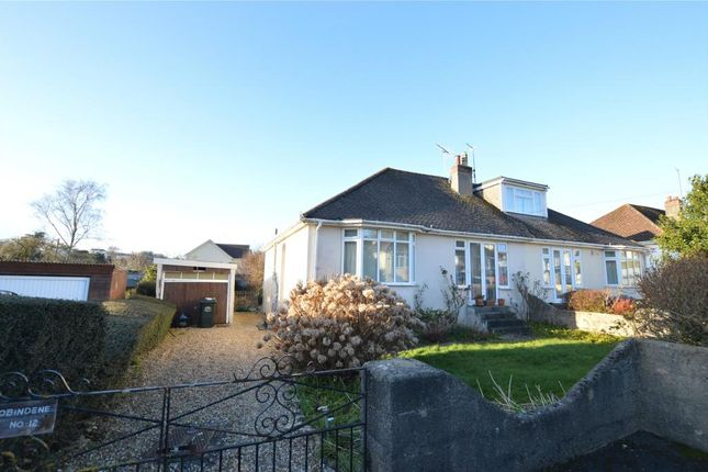 Thumbnail Semi-detached bungalow for sale in Sunnyside Road, Kingskerswell, Newton Abbot, Devon