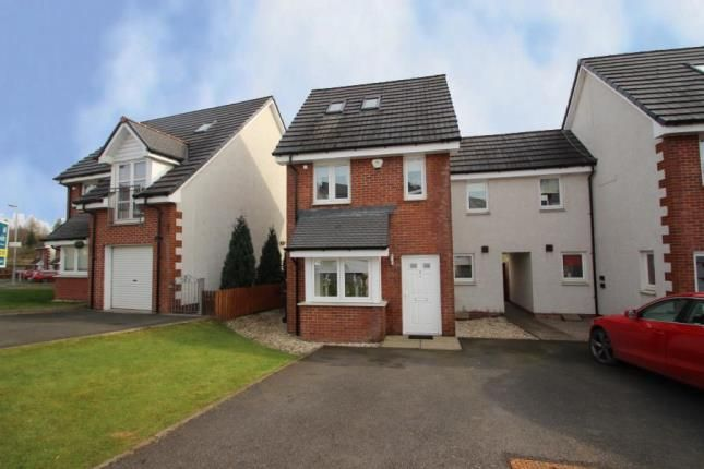 Thumbnail End terrace house for sale in Milldam Road, Caldercruix, Airdrie, North Lanarkshire