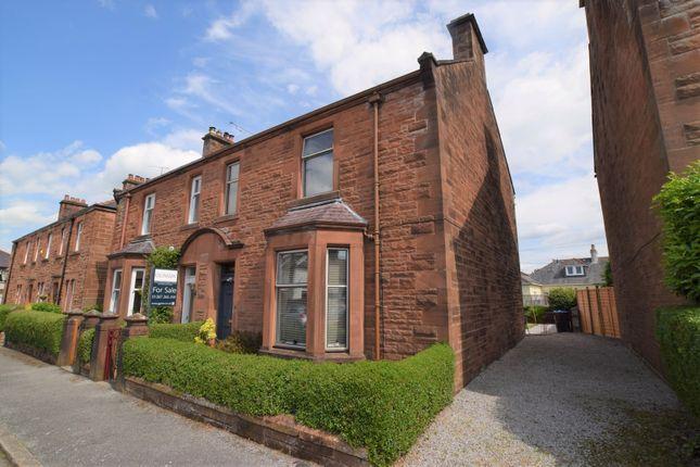 Thumbnail Semi-detached house for sale in Glencairn, 7 Victoria Avenue, Laurieknowe, Dumfries