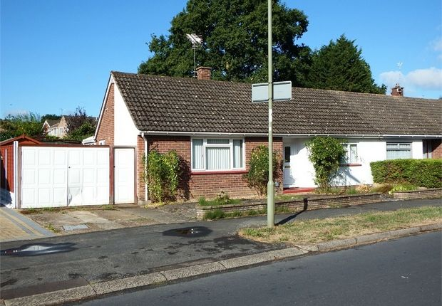 Thumbnail Semi-detached bungalow for sale in Newfield Avenue, Farnborough, Hampshire