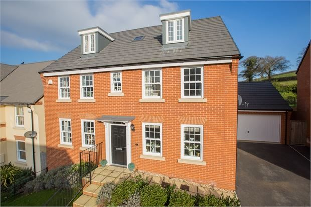 Thumbnail Detached house to rent in Beacon Drive, Highweek, Newton Abbot, Devon.