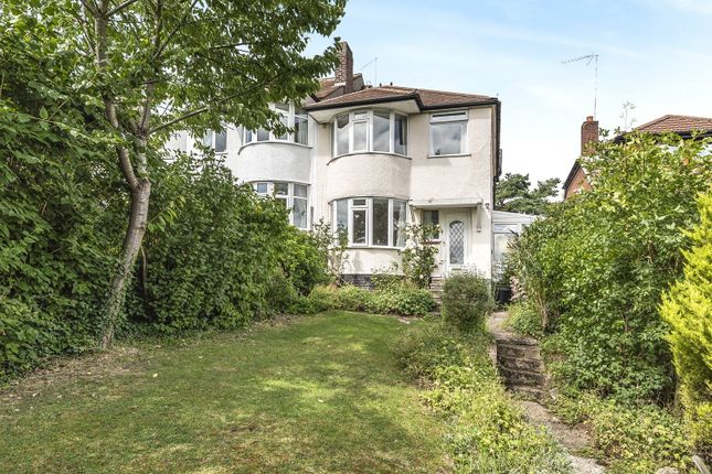 Thumbnail 3 bed semi-detached house for sale in Crofton Road, Orpington