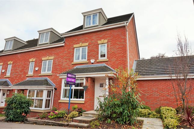 Thumbnail End terrace house for sale in Birch Close, Sprotbrough, Doncaster