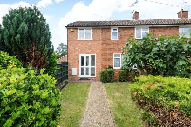 Thumbnail Semi-detached house for sale in Dover Hedge, Aylesbury