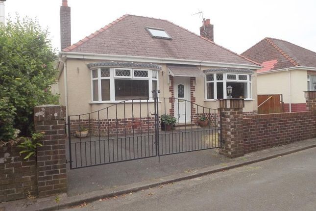 Thumbnail Bungalow for sale in Priory Hill, Cromwell Road, Hubberston, Milford Haven