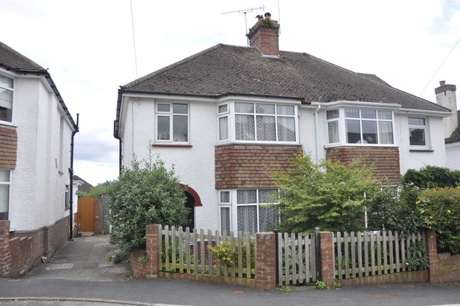 Thumbnail Semi-detached house to rent in Danesway, Pinhoe, Exeter