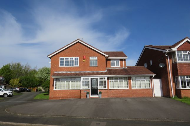 Thumbnail Detached house for sale in Wistmans Close, Milking Bank, Dudley