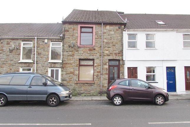Thumbnail Terraced house to rent in Bridgend Road, Maesteg, Bridgend.