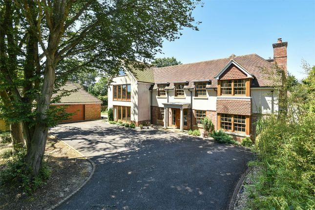 Thumbnail Detached house for sale in Cliff Way, Compton, Winchester, Hampshire