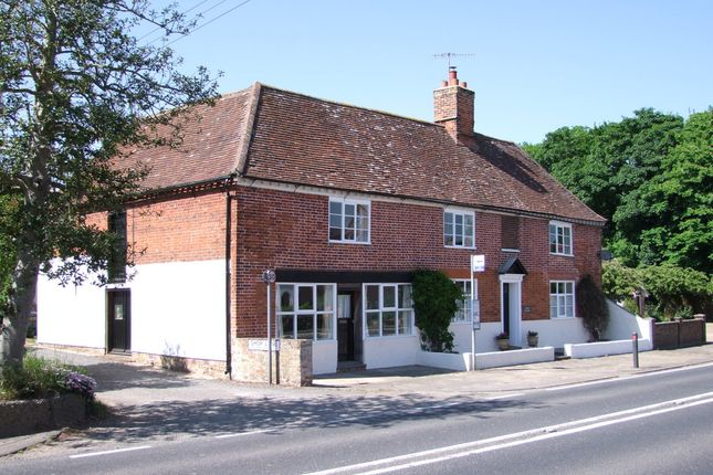 Thumbnail Detached house for sale in Main Road, Little Glemham, Woodbridge