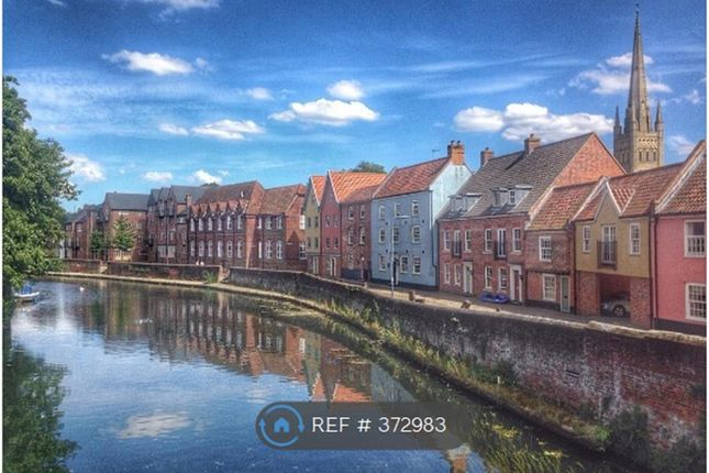 Thumbnail Terraced house to rent in Quayside, Norwich