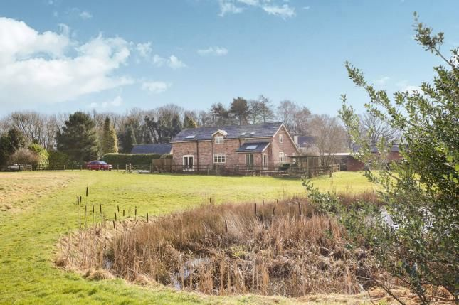 Thumbnail Barn conversion for sale in Salters Lane, Lower Withington, Macclesfield, Cheshire