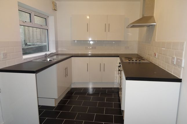 Thumbnail Terraced house to rent in Court Terrace, Twynyrodyn