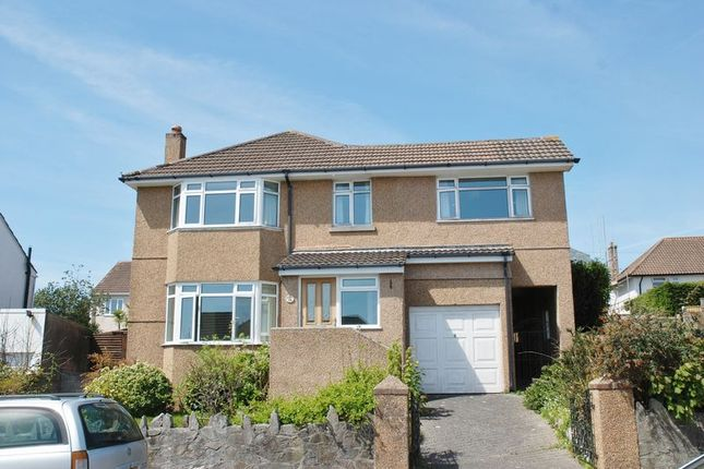 Thumbnail Detached house to rent in Compton Avenue, Mannamead, Plymouth