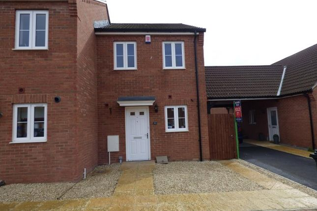 Thumbnail Semi-detached house to rent in Tatenhill Close Kingsway, Quedgeley, Gloucester