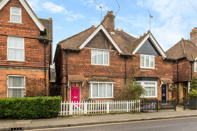 3 bed semi-detached house for sale in The Green, High Street, Brasted, Westerham