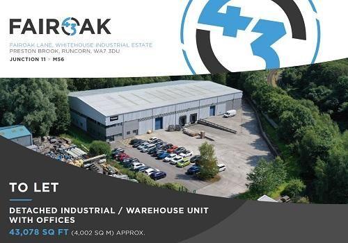 Thumbnail Industrial to let in Fairoak Lane WA7, Runcorn,