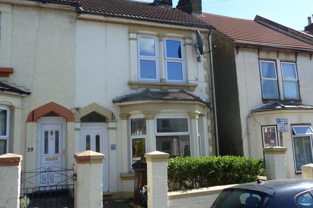 Thumbnail End terrace house to rent in Grove Road, Strood, Rochester