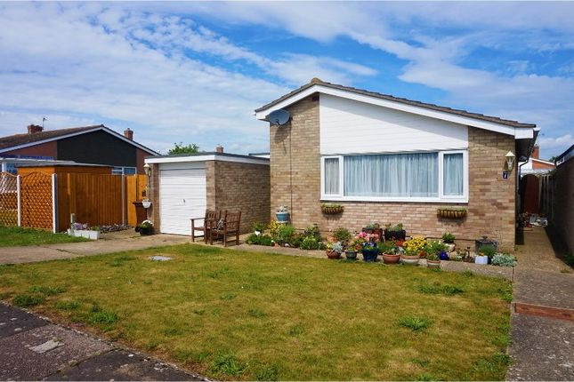 Thumbnail Detached bungalow for sale in Philip Close, Walton On The Naze