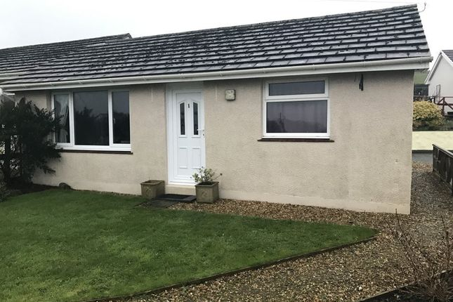 Thumbnail Bungalow to rent in Keeston Hall Bungalow, Haverfordwest, Pembrokeshire