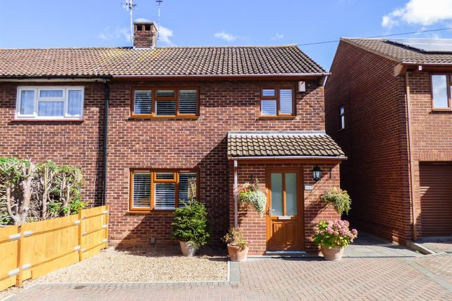 Thumbnail Semi-detached house for sale in Valley Drive, Gravesend, Kent