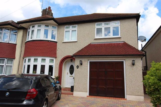 Thumbnail Semi-detached house for sale in Rosslyn Avenue, North Chingford, London