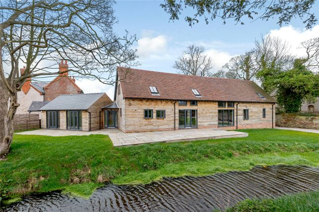 Thumbnail Barn conversion for sale in Woolston Road, West Felton, Shropshire