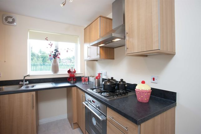 "Thumbnail Terraced house for sale in ""The Moulton"" at Rosehip Walk, Castleford"