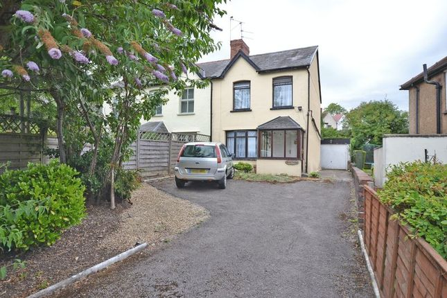 Thumbnail Semi-detached house for sale in Semi-Detached House, Glasllwch Crescent, Newport