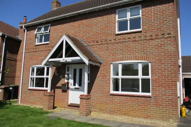 Thumbnail Detached house to rent in Mayflower Drive, Heckington, Sleaford