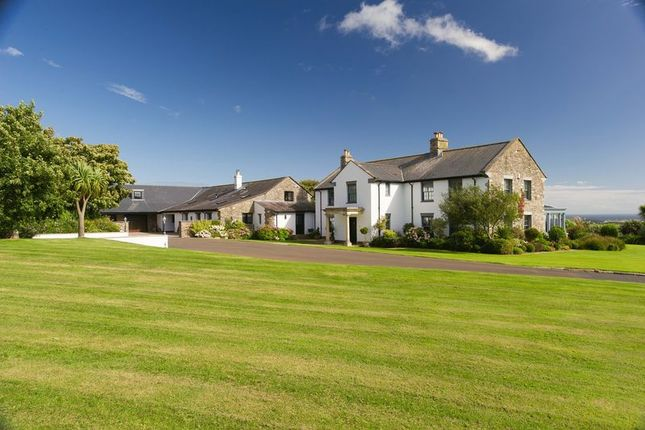 Thumbnail Detached house for sale in Ballaoates Farm, Glen Road, Colby