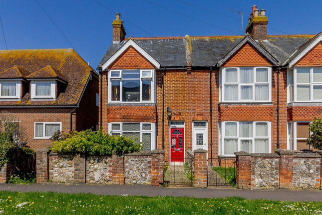 Thumbnail Semi-detached house for sale in Church Road, Chichester, West Sussex