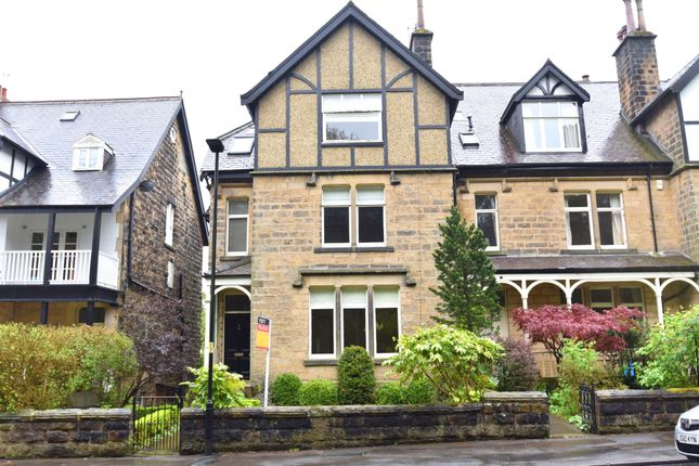 Thumbnail End terrace house to rent in Harlow Moor Drive, Harrogate
