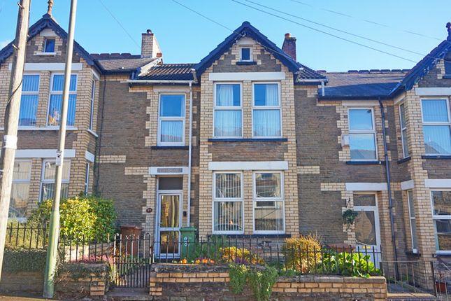 Thumbnail Terraced house for sale in Bedwlwyn Road, Ystrad Mynach