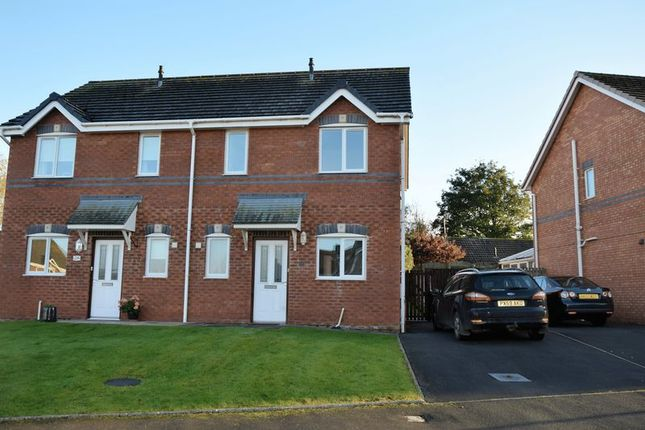 Thumbnail Semi-detached house to rent in Hawthorn Place, Carlisle