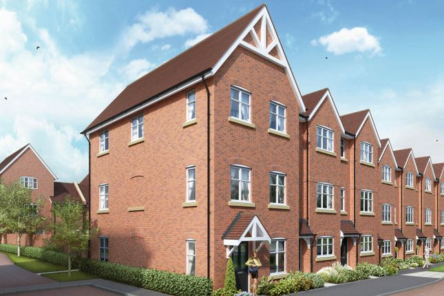 "Thumbnail End terrace house for sale in ""The Penrith"" at The Ridgeway, Enfield"