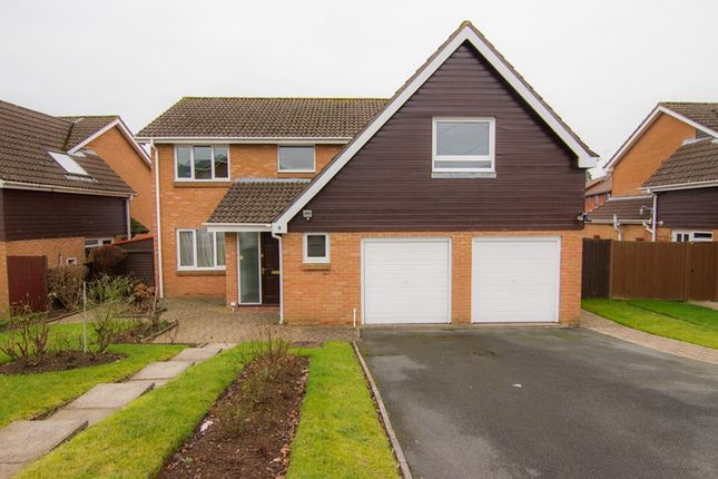 Thumbnail Detached house for sale in Greystones Avenue, Mardy, Abergavenny