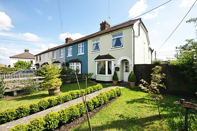 Thumbnail End terrace house for sale in Stanley Road, Roydon, Diss