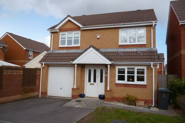 Thumbnail Detached house for sale in Spencer David Way, St. Mellons, Cardiff