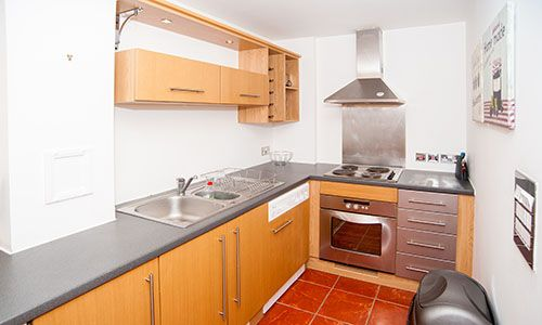 Kitchen of Serviced Apartment 'short Term Let', CV Central Coventry, Serviced Apartment 'lowest Price Promise' CV1