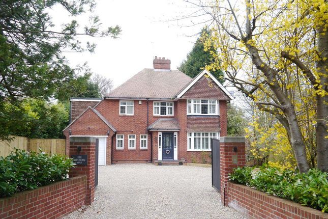 Thumbnail Detached house for sale in Western Way, Darras Hall, Newcastle Upon Tyne