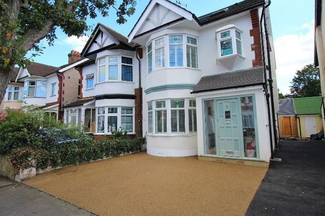 Thumbnail Semi-detached house for sale in Woodlands Avenue, London