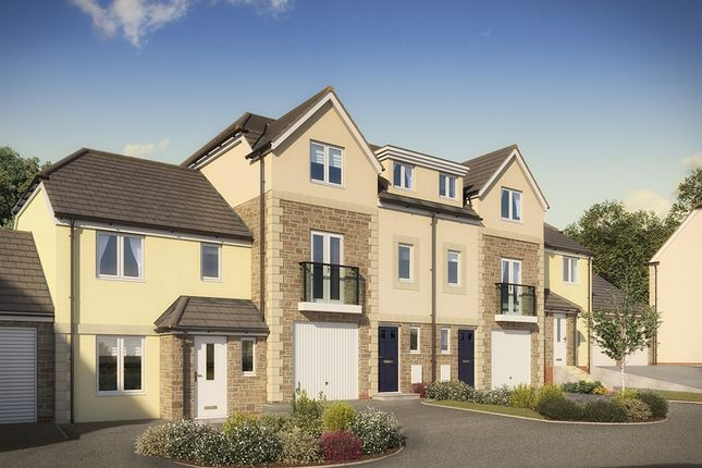 "Thumbnail Terraced house for sale in ""The Longford"" at Green Lane, Truro"
