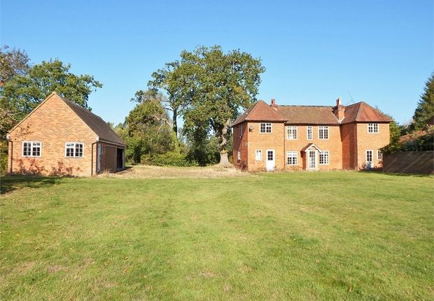 Thumbnail Detached house for sale in Warbrook Lane, Eversley, Hook, Hampshire