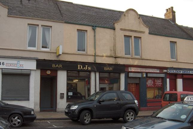 Thumbnail Flat to rent in High Street, Cowdenbeath, Fife