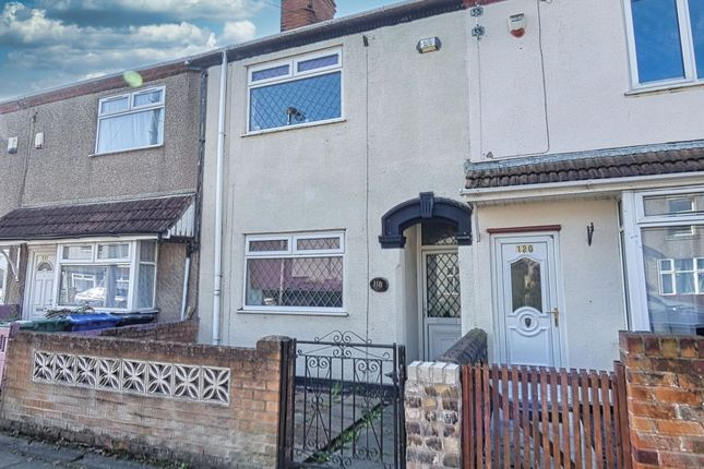 3 bed terraced house for sale in Elsenham Road, Grimsby, South Humberside DN31