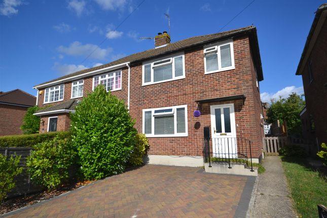 Thumbnail Semi-detached house for sale in Meadow Road, Harrow Way, Basingstoke