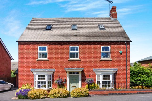 Thumbnail Detached house for sale in Paisley Walk, Church Gresley, Swadlincote